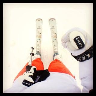 brand ambassador skier
