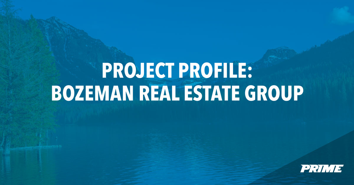 Bozeman Real Estate Group branding and marketing