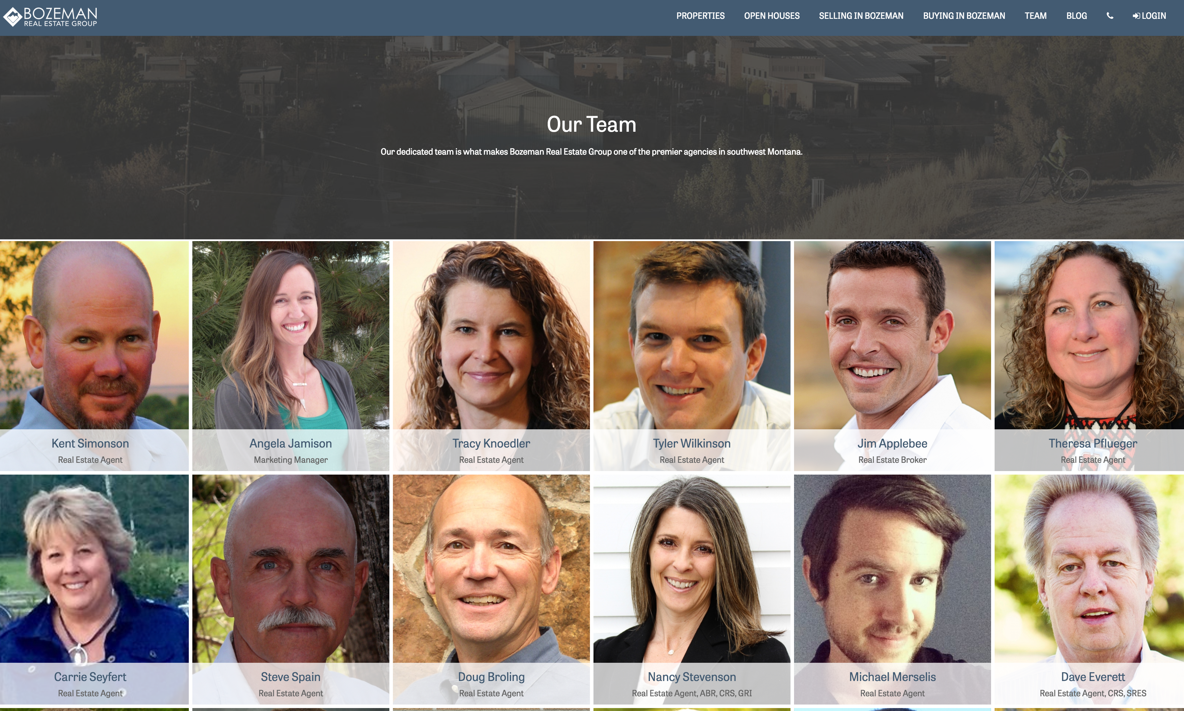 Bozeman Real Estate Group agents